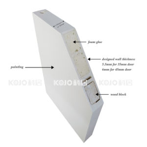 OEM/ODM waterproof Moisture-Proof WPC Door for Coastal Areas (YM-034) pictures & photos
