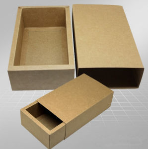 Custom Paper Corrugated Box for Apparel Boxes pictures & photos