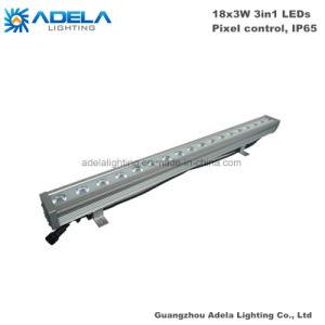18PCS 3W RGB 3in1 Pixel Control IP65 LED Wall Washer Bar Strip Park Garden Bridge Light pictures & photos