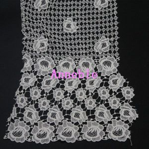 Rose Eye Design Lace Fabric for Dress