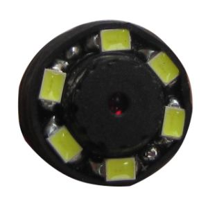 Smallest 14.5X14.5X15.5mm 520tvl Night Vision Mini Security Video Camera with 6 LED or IR Lights pictures & photos