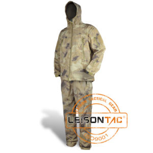 Camouflage Breathable Waterproof Clothing with ISO pictures & photos