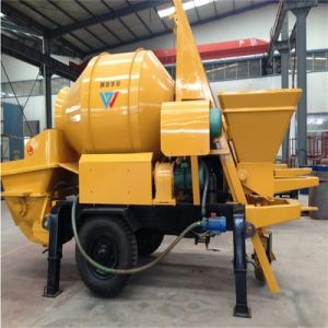 Move Concrete Pump with Mixer pictures & photos