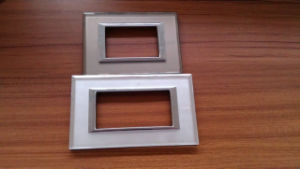 Frosted Mirror Surface Glass Switch Panel pictures & photos