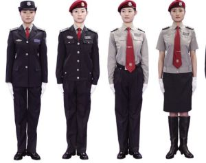Guard Security Guards Uniform for Ladies Ll-14 pictures & photos
