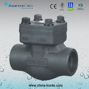 Forged Steel Check Valve with Scoket End pictures & photos
