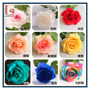 Wedding Various Colors Flowers Decorative Artificial Roses pictures & photos