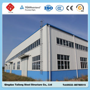 2015 New Quality Space Steel Frame Structure Warehouse pictures & photos