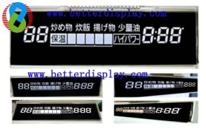 Va LCD Negative Dssiplay Used in Home Appliance pictures & photos