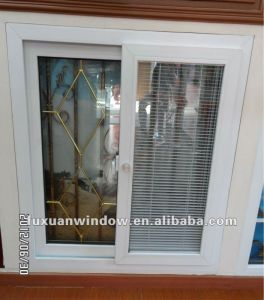 Double Glazing UPVC Sliding Window Made in China pictures & photos