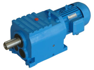 Solid Shaft Electric Motor with Reduction Gear