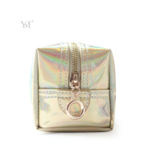 New Product Fashion Shiny Boxy Cosmetic Bag pictures & photos