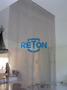 Stainless Steel Ring Mesh Curtain for Interior Design/ Ring Mesh Curtain/Room Dividing Partitions