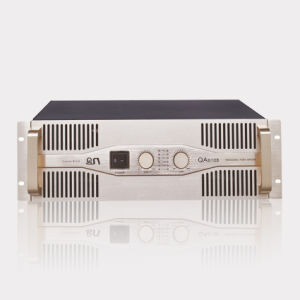 3u Gold Color Professional Power Amplifier (QA6108) pictures & photos