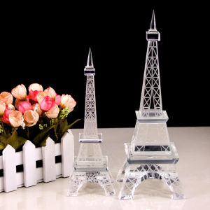 Hot Selling Crystal Eiffel Tower Model pictures & photos