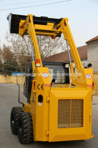 Bobcat Skid Steer Loader Farming Loader Mini Skid Steer Loader for Sale pictures & photos