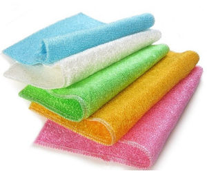 100%Bamboo Fiber Dishcloths Cleaning kitchen Products Manfuacture