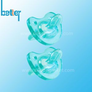 Food Grade Clear Silicone Baby Pacifier pictures & photos