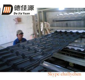 Resin Glazed Tile Composite Extrusion Line /Antique Roof Tile Extruder