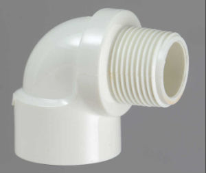 PVC-U Theraded Fittings Female&Male Elbow pictures & photos