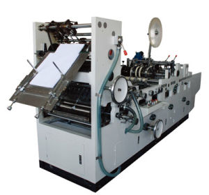Automatic Flap Gummed Pocket Envelope Stuffing Machine with Silicon (Znzt808s