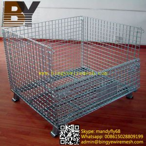 Wire Mesh Containers Storage Cages pictures & photos