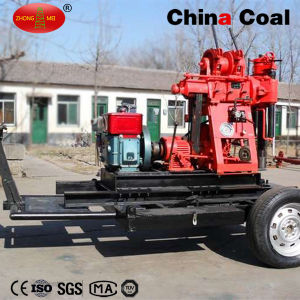 Geotechnical Portable Tractor Mounted Hydraulic Rotary Core Sample Drilling Rig pictures & photos