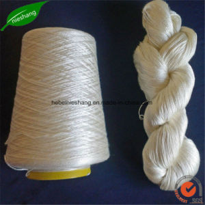 Chinese Silk Raw Mulberry Silk Spun Silk Yarn pictures & photos