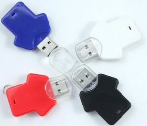 Shirt USB Plastic USB Flash Drives USB Memory Sticks (DG-SZ083)