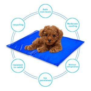 Self Cooling Pet Pad Chilly Comfort Gel Pet Mat Double PVC Leak-Proof Cooling Ice Pad 11X15 Inches pictures & photos