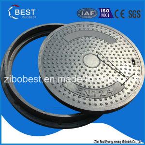 D400 En124 SMC Round 700*50mm FRP Manhole Cover for Sales pictures & photos