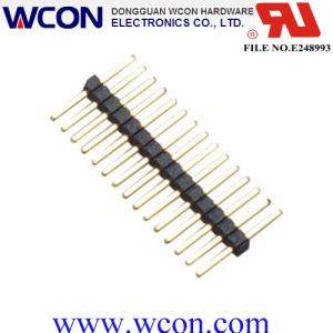 1.00 mm Single Row of 90 ° SMT Pin Header pictures & photos