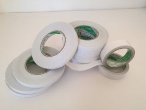 White Cotton Paper Double Sided Adhesive Tape for The Sticking of Packing Box pictures & photos