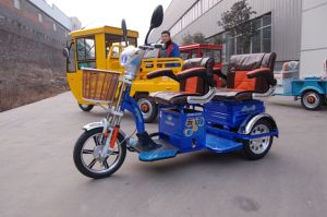 Electric Tricycle with Passenger pictures & photos