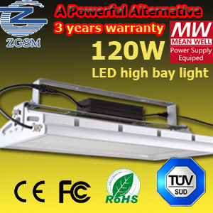 120W High Power & Energy Saving LED High Bay Lamp With Meanwell Drivers