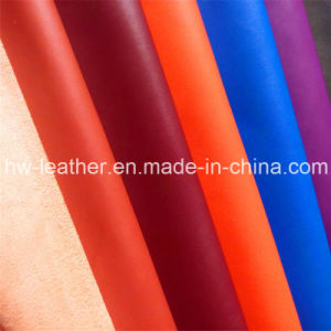 High Quality Colorful Microfiber Leather Hw-456 pictures & photos