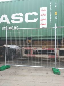 Used Second Hand Temp Fencing Panels 2100mm X 2400mm Customized Fence Panels pictures & photos