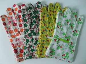 Cotton Sewing Colorful Garden Gloves Children Gloves Work Glove pictures & photos
