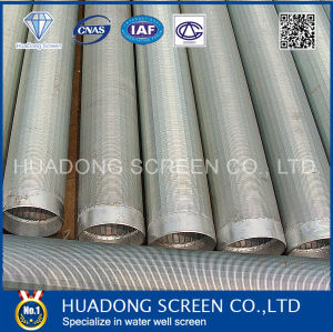 Wedge Wire Screen Stainless Steel V Wire Wrapped Filter Pipe Ss304 Screens pictures & photos