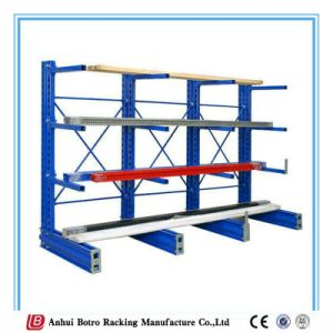 China Good Quality Storage Solutions Cantilever Rack with Roll out pictures & photos