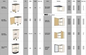 china modular kitchen cabinet for ikea (base cabinet-03) - china