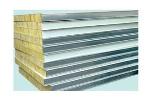 Fireproof Insulated Sandwich Panel for Wall and Roof
