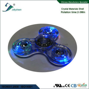 Newest Fashion Crystal Hand Spinner Toys with LED Colorful light. pictures & photos