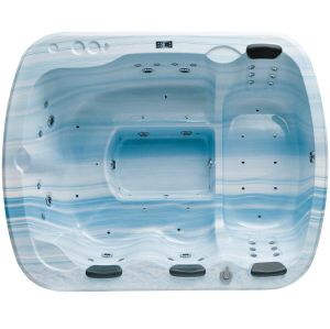 Monalisa Sky Blue Standard Freestanding Massage SPA Hot Tub (M-3328) pictures & photos
