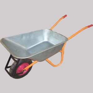 Building Tools Wheel Barrow with Galvanized Tray pictures & photos