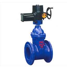 Electric Resilient Seated Gate Valve/Z945X-10/16 pictures & photos