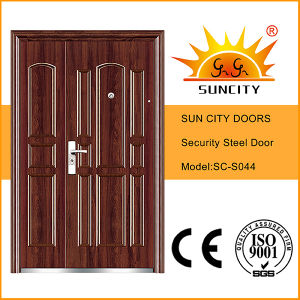 Iron Door Security Steel Door Price Iron Door Pictures for Home (SC-S044) pictures & photos