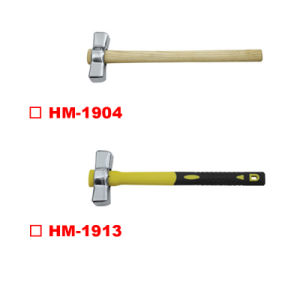 Australian Type Stoning Hammer with Wooden Handle pictures & photos