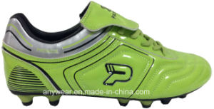 Soccer Football Boots with TPU Outsole for Men Shoes (815-7412) pictures & photos