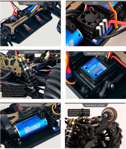 1/10 4WD Electric Violence RC Car in High Quality pictures & photos